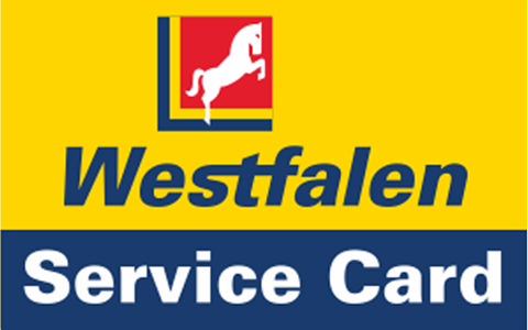 Westfalen Service Card